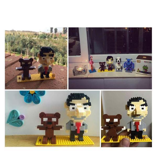 LOZ Mr. Bean and Teddy
