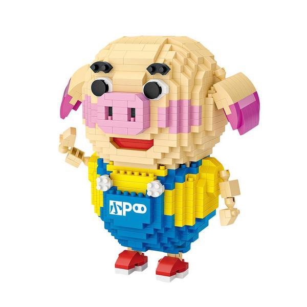 LOZ Animals Pig