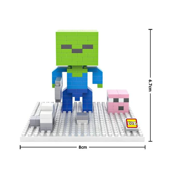 LOZ 9472 Minecraft Green Head