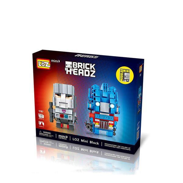 LOZ Brickheadz Optimus Prime and Megatron