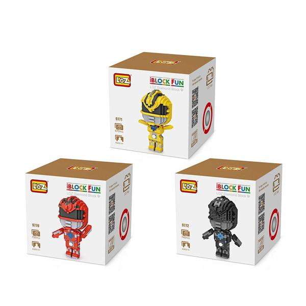 LOZ 9770-9772 Power Rangers