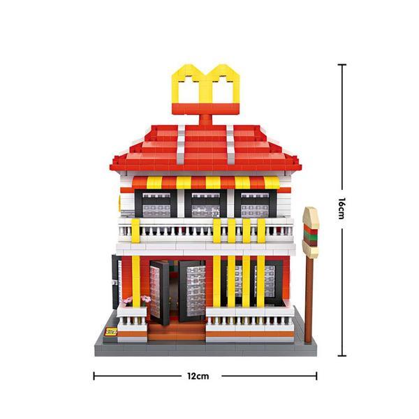 LOZ Large Mac Donald's Restaurant