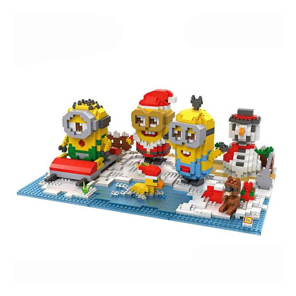 LOZ Despicable Me Christmas Bundle