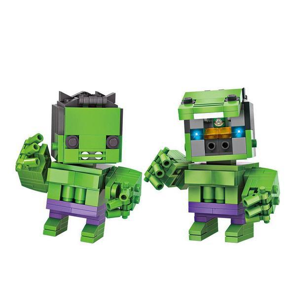LOZ Brickheadz The Hulk 1