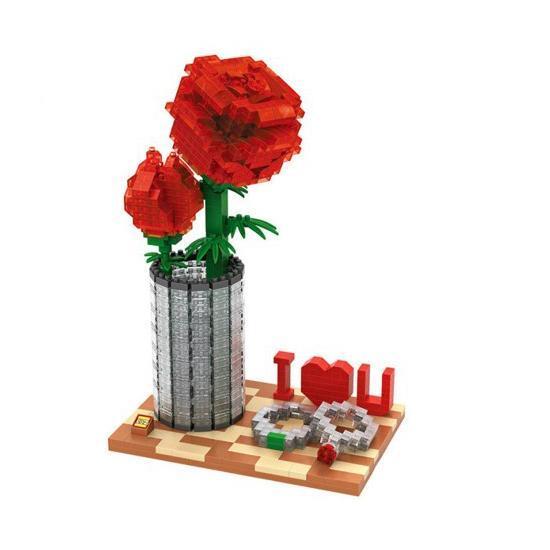 LOZ Crystal Rose