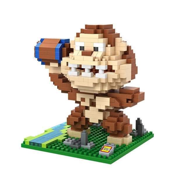LOZ Pixels Donkey Kong