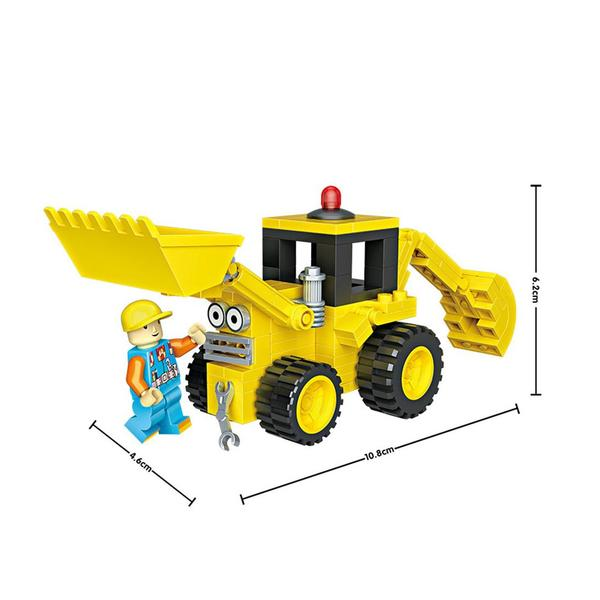 LOZ Bob the Builder Bulldozer Scoop