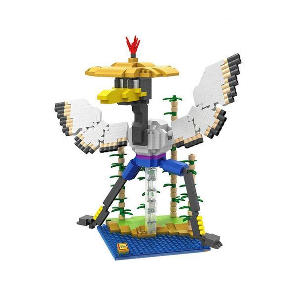 LOZ Kung Fu Panda Crane