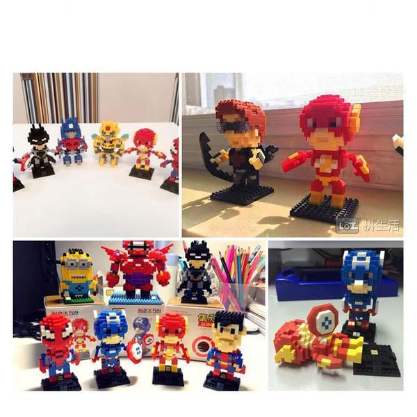 LOZ Superhero The Flash