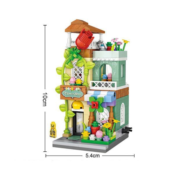 LOZ Mini Street Flower Shop