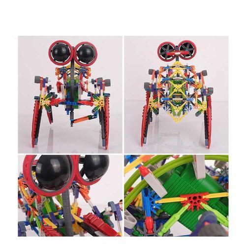 LOZ 3028 4-Eyed Robot Red Scorpion