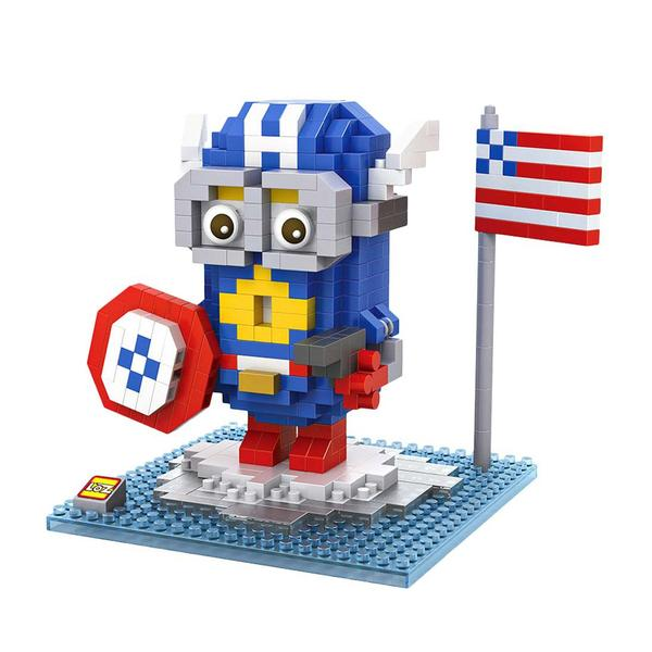 LOZ Despicable Me Captain America