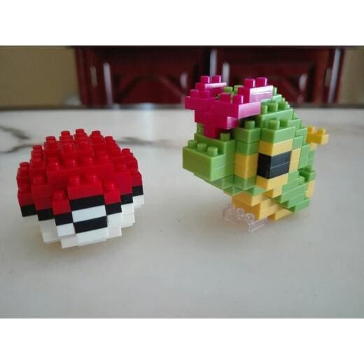 LNO Pokémon Caterpie and Pokeball