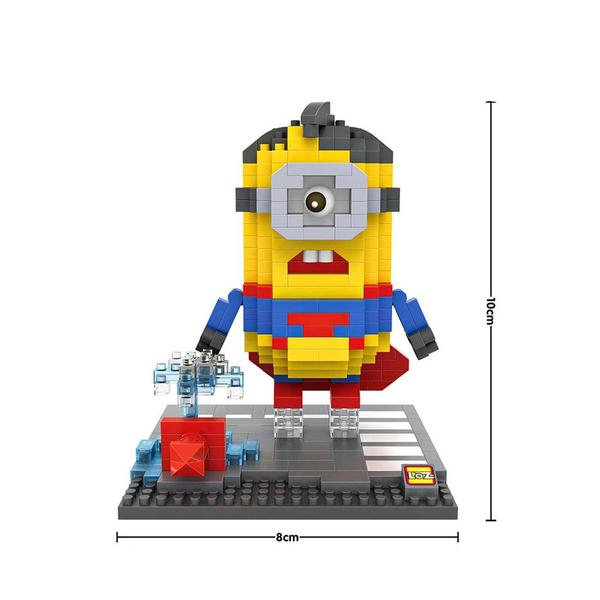 LOZ Despicable Me Superman