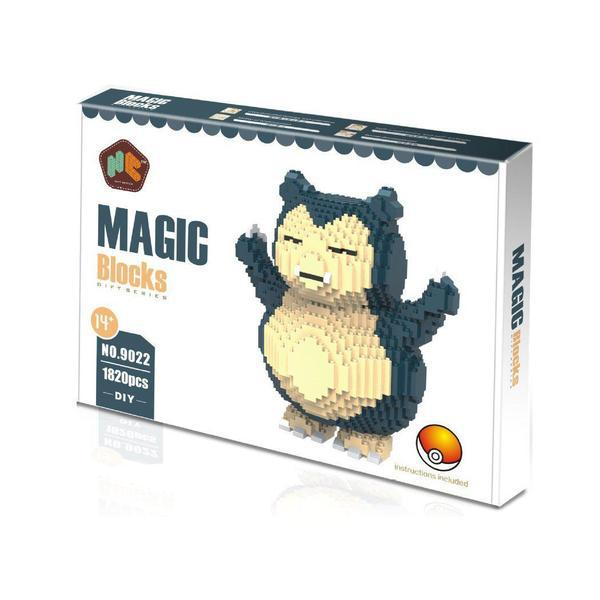 Magic Blocks Pokémon Snorlax