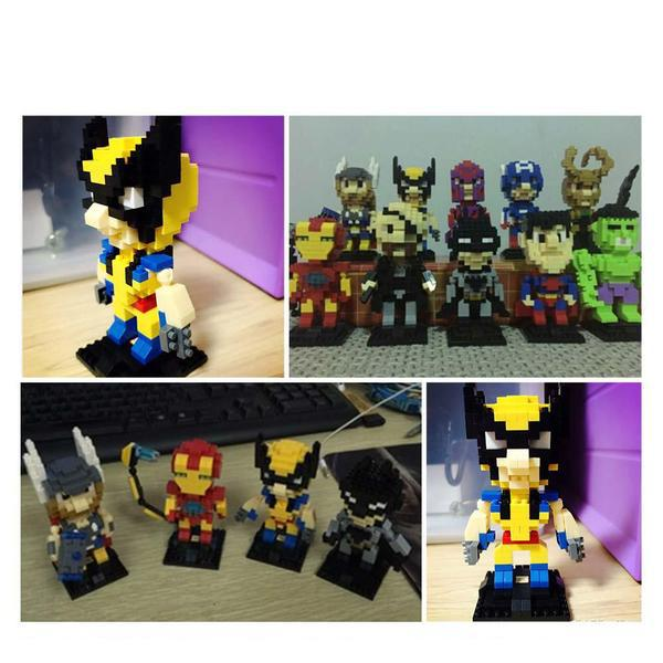 LOZ Superhero Wolverine