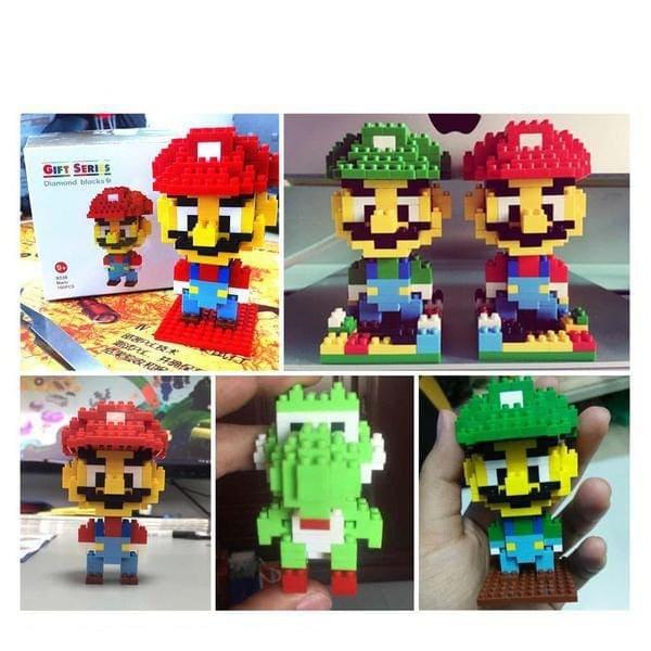 LOZ Super Mario Luigi