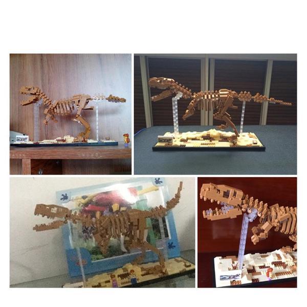 LOZ 9023 Dinosaur Tyrannosaurus Rex Skeleton