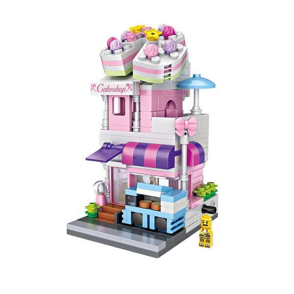 LOZ Mini Street Cake Shop