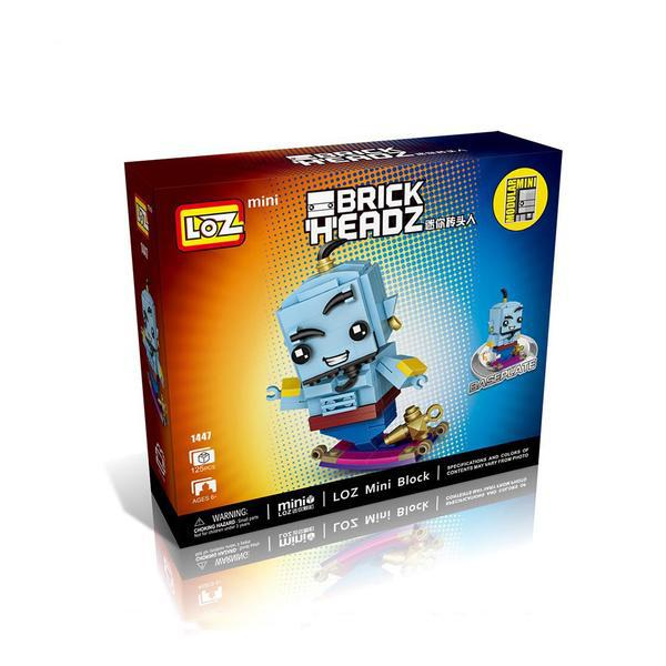 LOZ Brickheadz Disney Genie