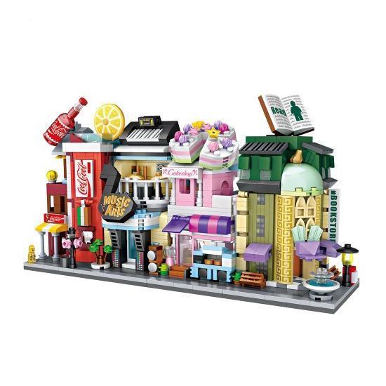 LOZ Mini Street Store Bundle