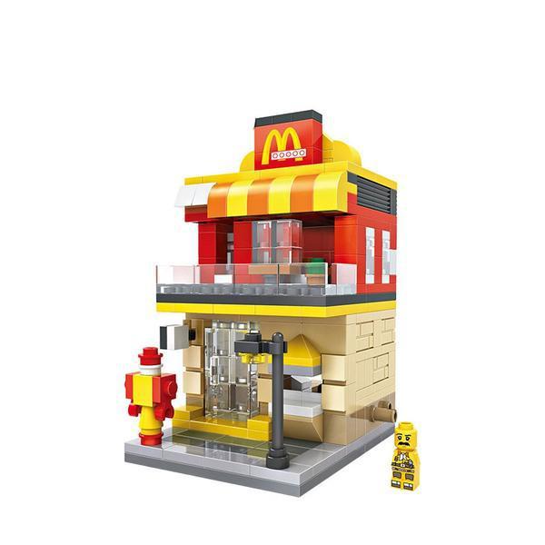 LOZ Mini Street Mac Donald's