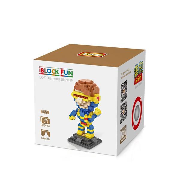 LOZ 9458 Superhero Cyclops