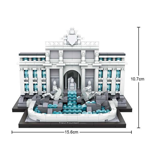 LOZ 1015 Landmarks Trevi Fountain