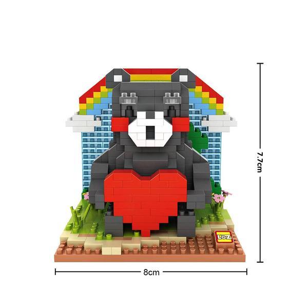 LOZ 9841 Kumamon Heart
