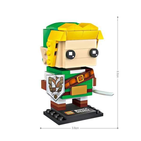 LOZ Brickheadz Link from Zelda