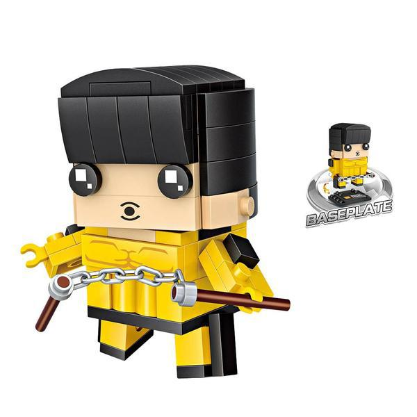 LOZ Brickheadz Bruce Lee
