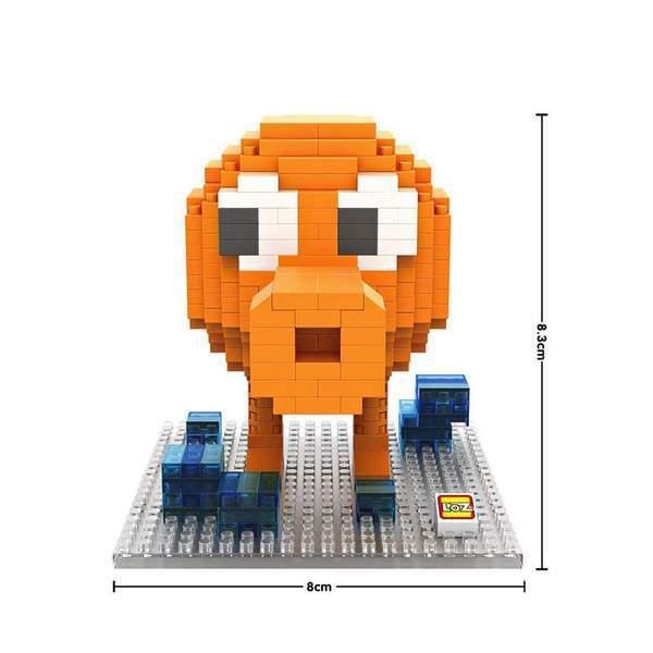 LOZ Pixels Q-Bert