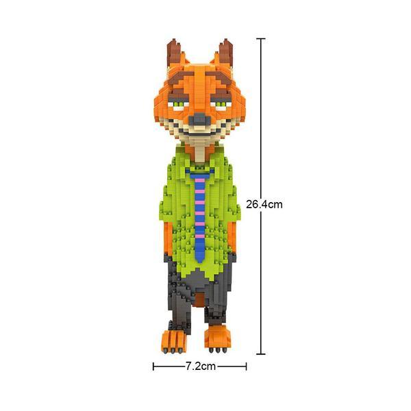 LOZ Zootopia Nick XL