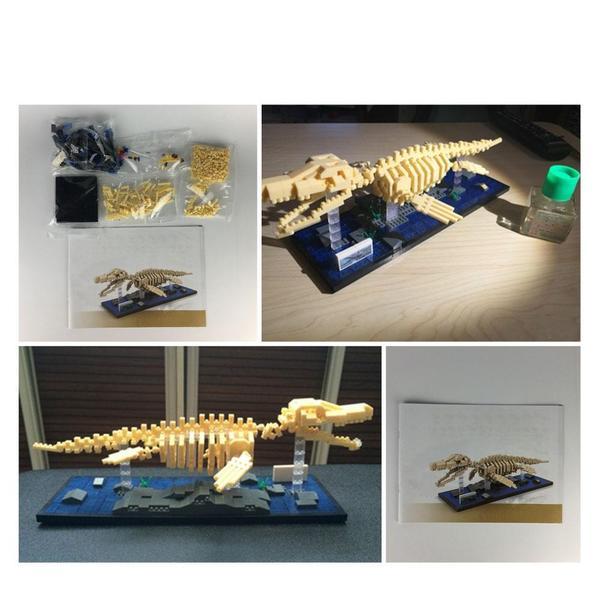 LOZ Dinosaur Mosasaurus