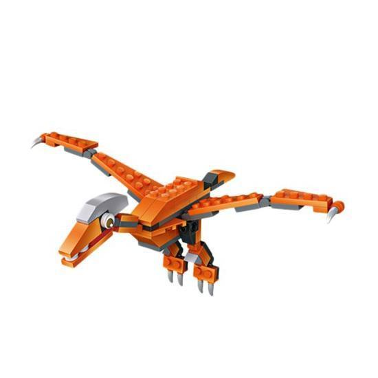 LOZ 79992 Cube Dudes Dinosaurs x6