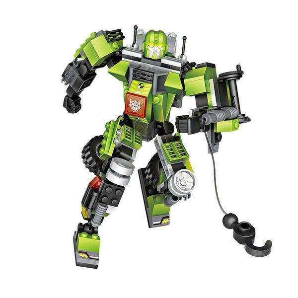 LOZ Transformers Green