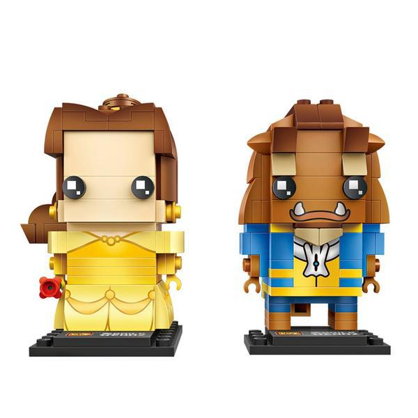 LOZ Brickheadz Belle and the beast