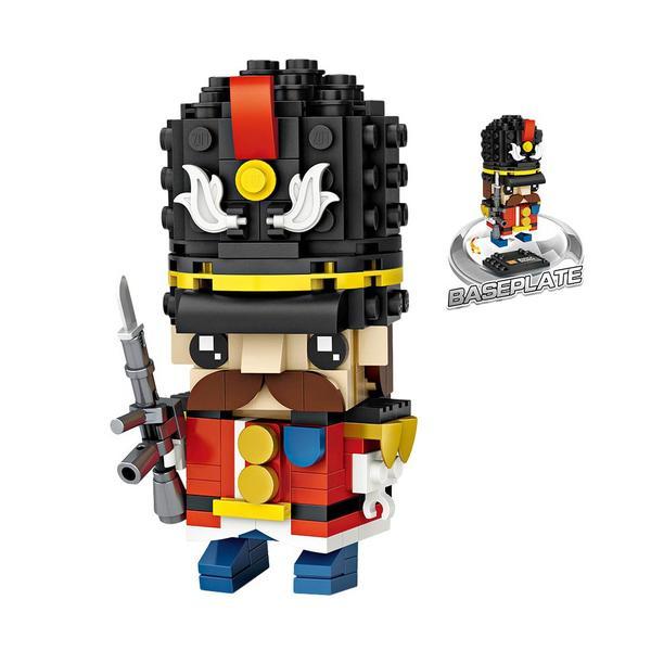LOZ Brickheadz British Soldier
