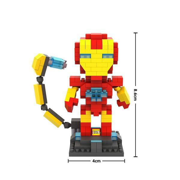 LOZ Superhero Iron Man