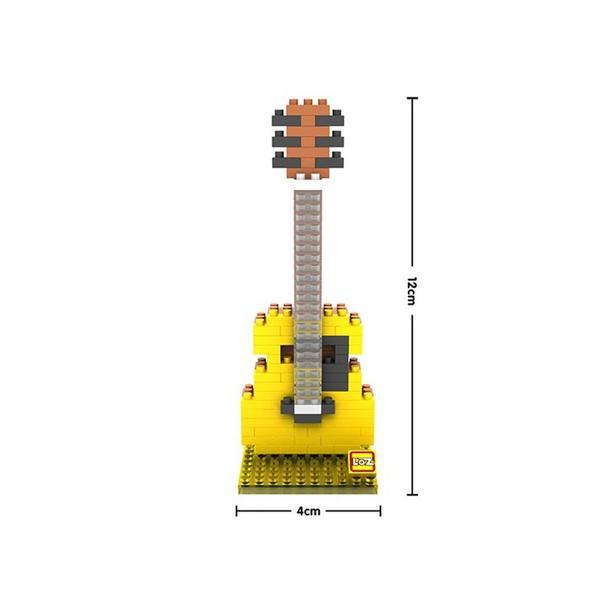 LOZ 9194 Yellow Acoustic Guitar