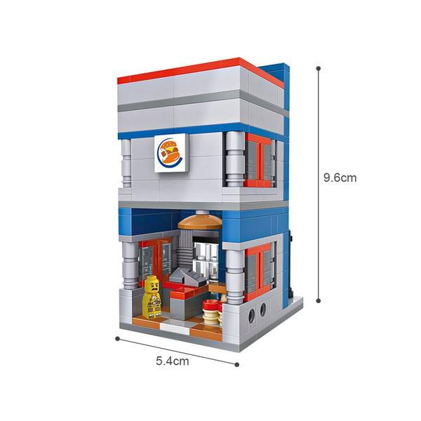 LOZ Mini Street Burger King
