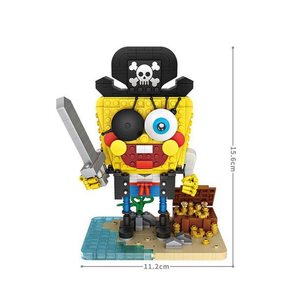 LOZ 1104 Spongebob Pirate