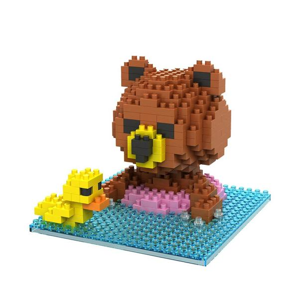 LOZ Brown Bear Swim