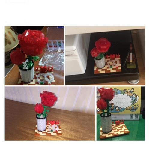 LOZ 9022 Crystal Rose
