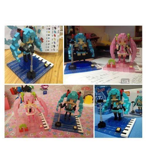 LOZ Hatsune Miku Blue