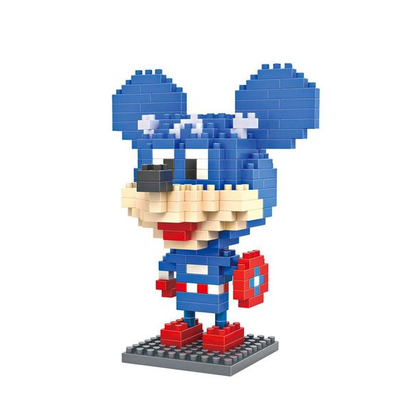LOZ Mickey Mouse Captain America