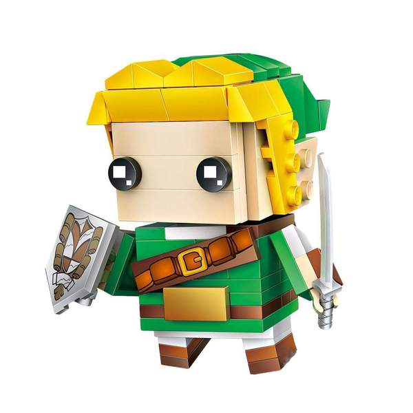 LOZ Brickheadz Link from Zelda
