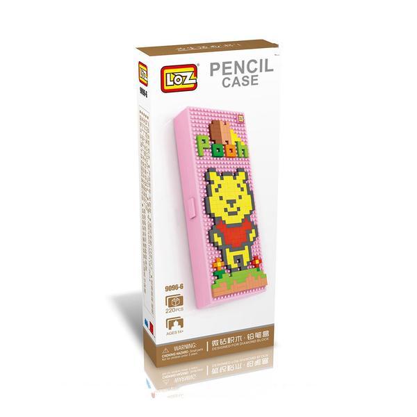 LOZ 9096-6 Pen Case Winnie the Pooh