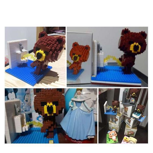 LOZ Brown Bear Toilet