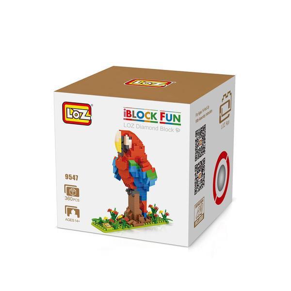 LOZ 9547 Parrot